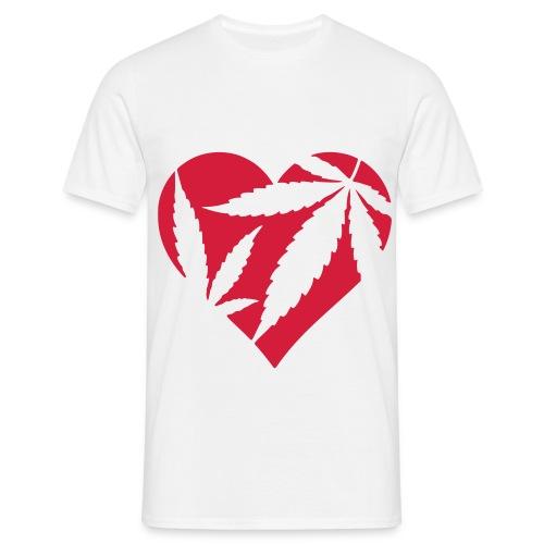 Leaf T-shirt. - T-shirt herr