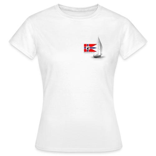Eggedal Jåt Klubb dameskjorte - T-skjorte for kvinner