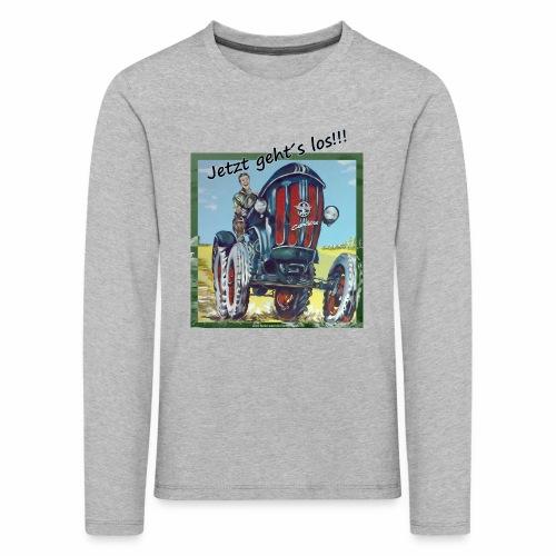 Kindershirt Traktor - Bauernhof - Kinder Premium Langarmshirt