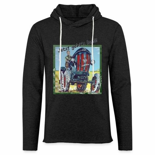 Sweatshirt für Traktorfan´s - Leichtes Kapuzensweatshirt Unisex
