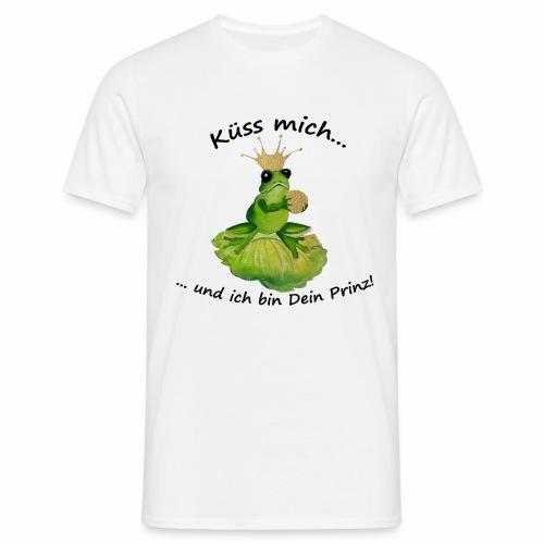 Ich will Prinz werden - Männer T-Shirt