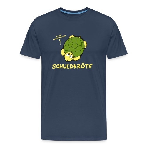 Schuldkröte - Männer Premium T-Shirt