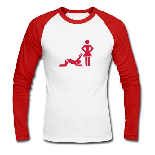 Feminisme - Langærmet herre-baseballshirt