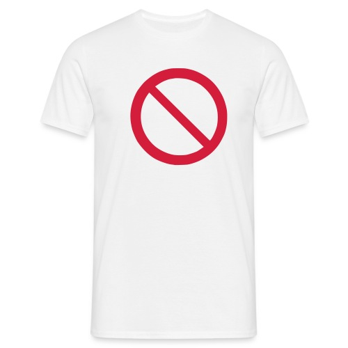Forbudt - Herre-T-shirt