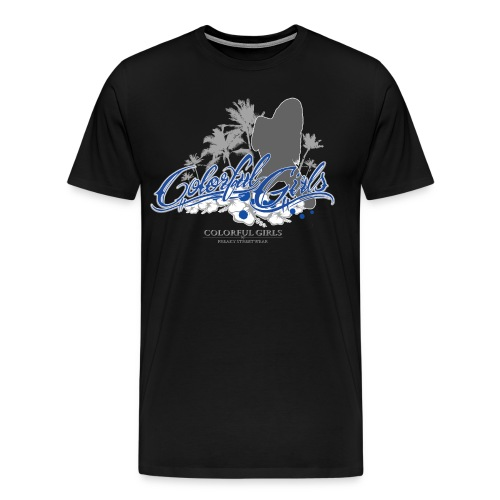 Silhouette 2 - Männer Premium T-Shirt