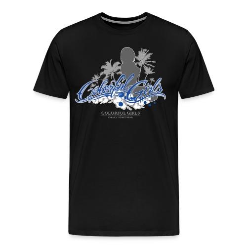 Silhouette 3 - Männer Premium T-Shirt