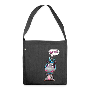shoulder bag hippo - Schultertasche aus Recycling-Material