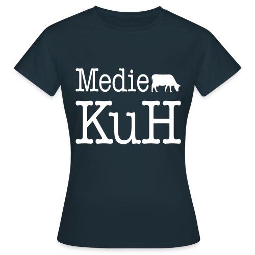 Frauenshirt, helles Brustlogo - Frauen T-Shirt