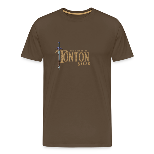 THE LEGEND OF TONTONSYLAR (Homme) - T-shirt Premium Homme