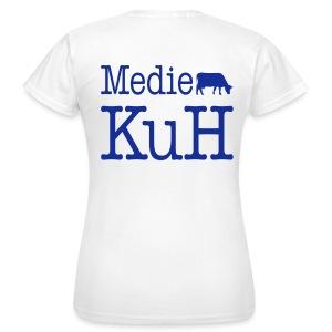 Frauenshirt, helles Rückenlogo - Frauen T-Shirt