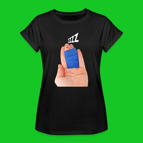 Slapende vingers dames t-shirt - Vrouwen oversize T-shirt