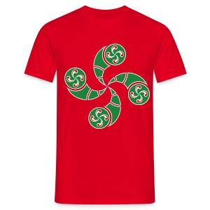 Croix du Pays Basque - T-shirt Homme