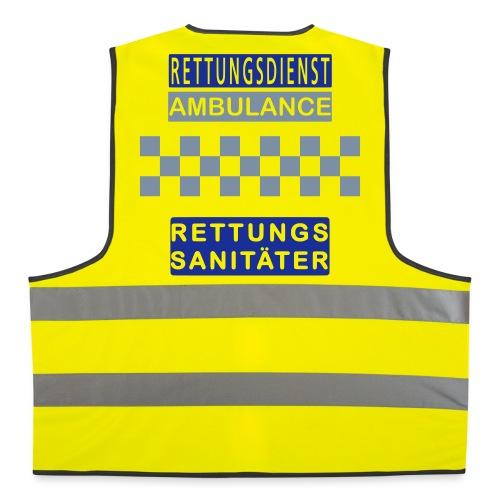 Kennzeichnungsweste Rettungssanitäter - Warnweste