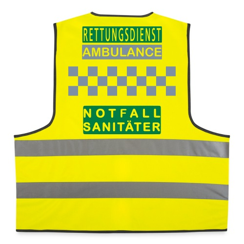 Kennzeichnungsweste Notfallsanitäter - Warnweste