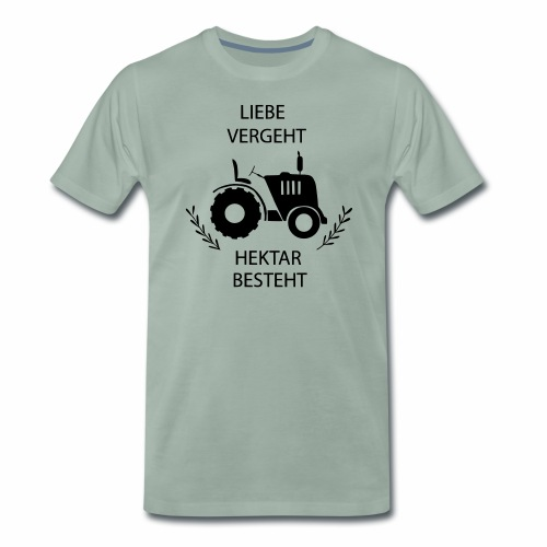 Traktorliebe Männer T-Shirt  - Männer Premium T-Shirt