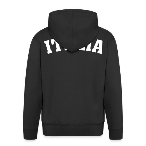 Veste Noir à Capuche Italia - Veste à capuche Premium Homme