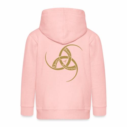 Veste à capuche Premium Enfant - Attention au prénom sur la capuche !!! United Breizh of Armorica (c) est une marque déposée depuis 2008, centrée sur le monde celtique en général et la Bretagne en particulier.