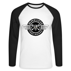 Breizh Bikers - T-shirt baseball manches longues Homme