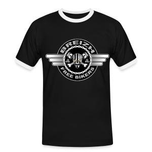 Breizh Bikers - T-shirt contrasté Homme