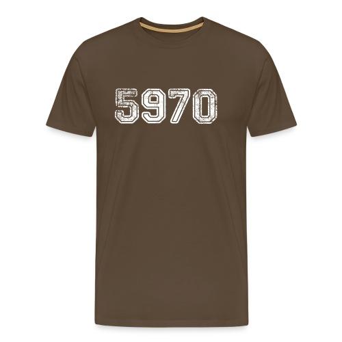 Herren T-Shirt 5970 - Männer Premium T-Shirt