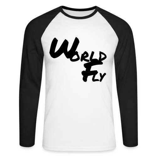 World&Fly - T-shirt manches longues - T-shirt baseball manches longues Homme