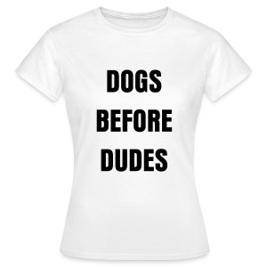 Dogs white - Women's T-Shirt