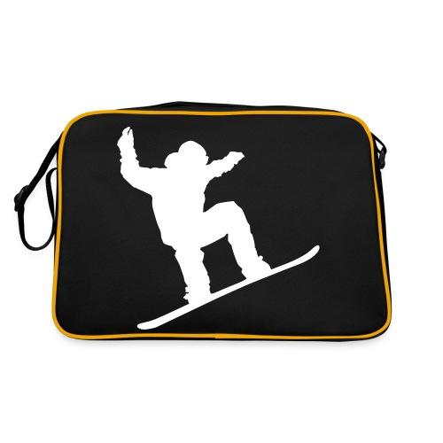 Veske med Snowboard icon! - Retro veske