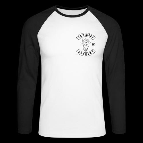 LAB FULD LANGTSHIRT - Langærmet herre-baseballshirt