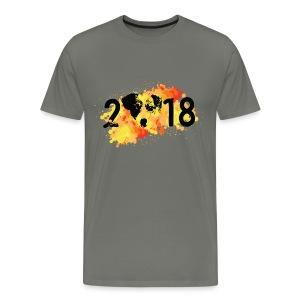 2018 year of the dog - Men's Premium T-Shirt
