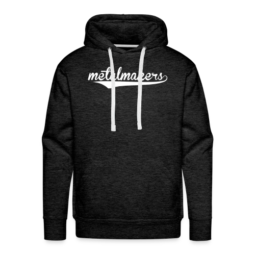 MetalMakers Hoodie - Sweat-shirt à capuche Premium pour hommes