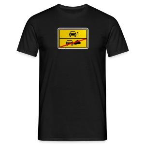 E-Mobilität - Direktdruck - Männer T-Shirt