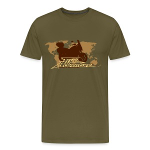 True Adventure - Männer Premium T-Shirt