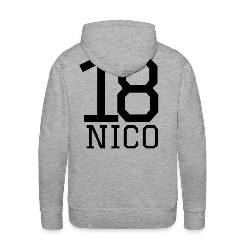 Nico18 - Hoddie - Männer Premium Hoodie