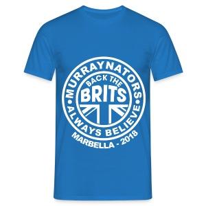 Davis Cup Marbella 2018 - Murraynators Mens T Shirt - Blue - Men's T-Shirt