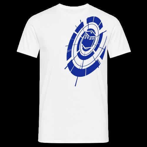 Timey Wimey - Blue - Mens - Men's T-Shirt
