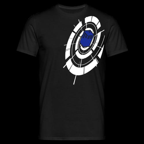Timey Wimey - White & Blue - Mens - Men's T-Shirt