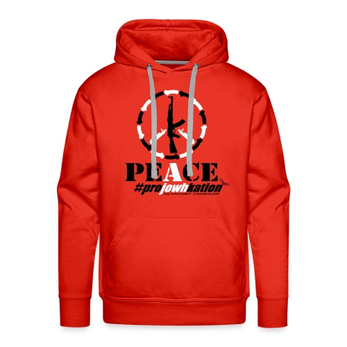 guns4peace - JOWHWEAR - 20161016021 - Männer Premium Hoodie