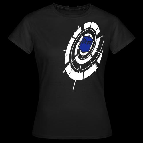Timey Wimey - White & Blue - Womens - Women's T-Shirt