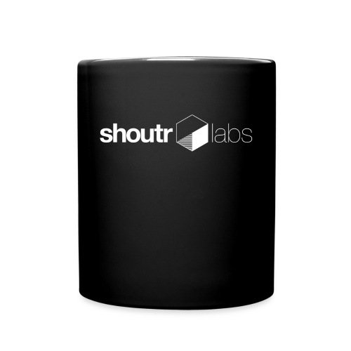 shoutr.Coffee - Tasse einfarbig