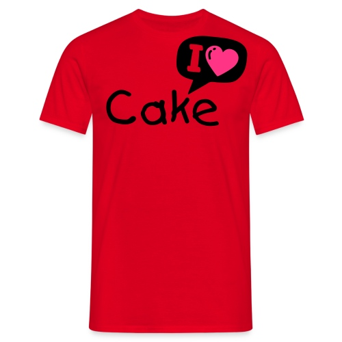 Cake main shirt - T-skjorte for menn