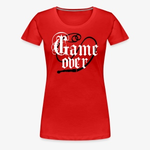Game Over Ringe Eheringe Peitsche JGA T-Shirts - Frauen Premium T-Shirt