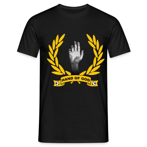 t-shirt hand of god - Men's T-Shirt