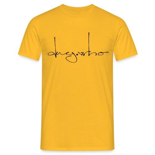 dry.who script - Männer T-Shirt