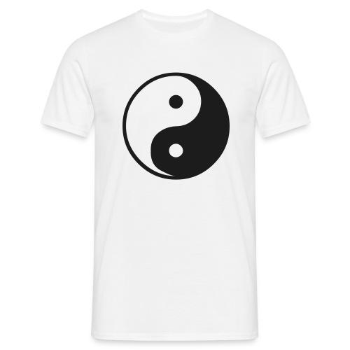 yING Yang sparkle shirt - Men's T-Shirt