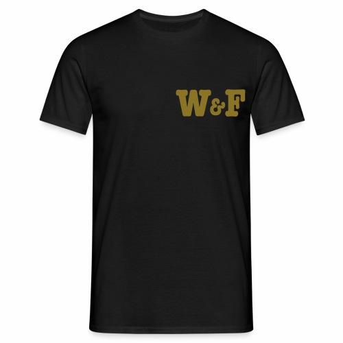 World&Fly - T-shirt Gold  - T-shirt Homme