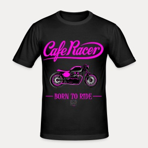 T-shirt Homme Cafe Racer - Tee shirt près du corps Homme