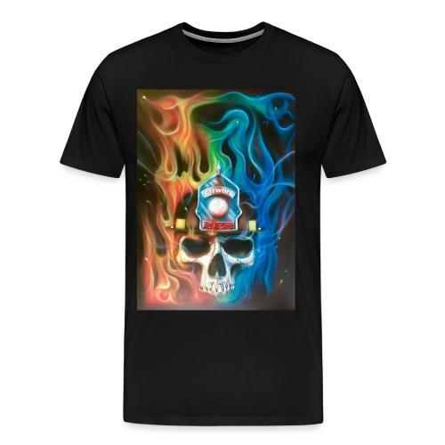 Totenkopf by ༄Airwork MS༄ - Männer Premium T-Shirt