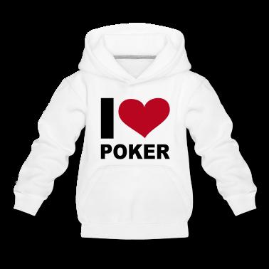 I LOVE Poker - eushirt.com Kinder Pullover