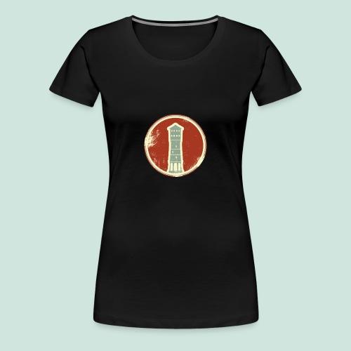 Gütersloh Wasserturm Retrolook - Frauen Premium T-Shirt