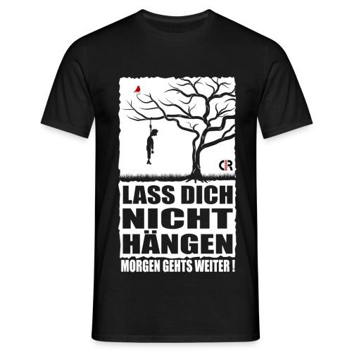 Abhängen - schwarz - Männer T-Shirt